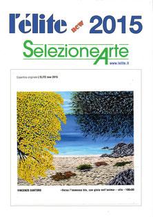"""La mia tela in copertina su """" L'élite new 2015 """""""