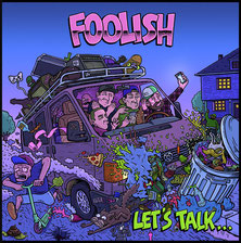 "FOOLISH ""Let's Talk"" EP CD"