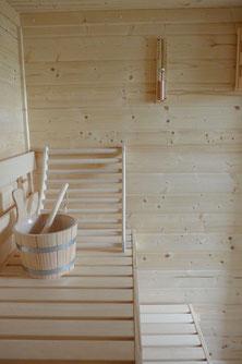 Sauna Ferienhaus Küstenkönig in Cuxhaven Duhnen