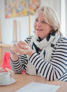 Karin Zecha, Vorstandsmitglied im Krefelder Frauenverein