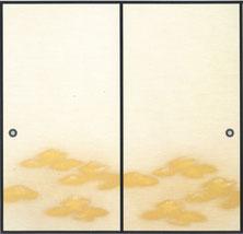 中級織物 襖紙