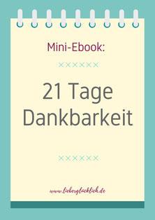 21 Tage Dankbarkeit Ebook