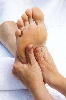 Fußreflexzonen-Wellnessmassage