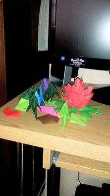 Papiroflexia multicolor