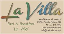 La Villa B&B