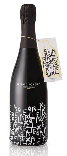 Magnum Flasche Cava Xarel.lo Brut Nature, bottle Xarel.lo brut nature, Magnum, Jaume Giro i Giro, Schweiz, Switzerland, Ciudad Condal, organic, bio, biologisch, vegan, single grape 100% Xarello, reinsortig 100% Xarello