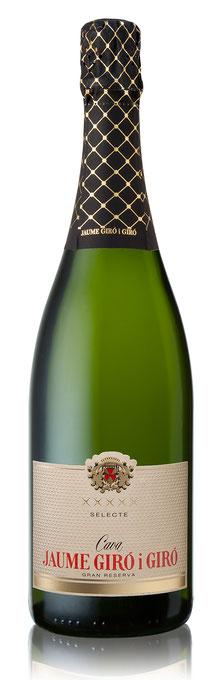 Flasche Cava Selecte Gran Reserva 2008, bottle cava Selecte Gran Reserva 2008, Jaume Giro i Giro, Schweiz, Switzerland, Ciudad Condal, Vinari Awards 2016 Best Cava