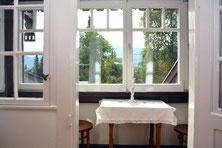 Ferienhaus in Oberstdorf, Ferienhaus Sehrwind – Balkon