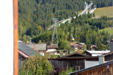 Ferienhaus in Oberstdorf, Ferienhaus Sehrwind – Aussicht Nebelhornbahn