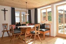 Ferienhaus in Oberstdorf, Ferienhaus Sehrwind – Wohnraum