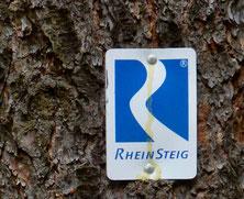 Rheinsteigmarkierung