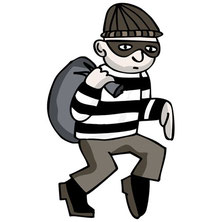 a robber/thief needs to payback twice the amount stolen.