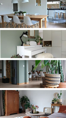 interieurontwerp woonkamer eetkamer piano