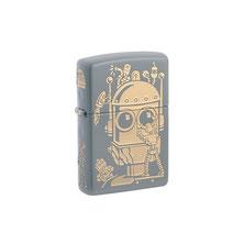 Zippo Robot Design Lighter
