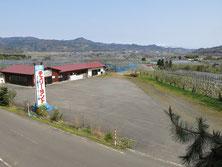 さくらんぼ狩りの場所はここ、山形チェラ-ランドの駐車場