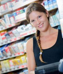 Altersabfrage und Bezahlung beim Tabakwarenverkauf aus Automaten
