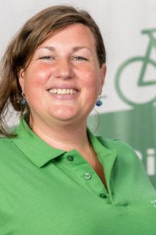 Isabel, Backoffice Administration im Lastenfahrrad-Zentrum Frankfurt