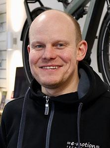 Markus Kindler vom Lastenfahrrad-Zentrum Berlin Mitte