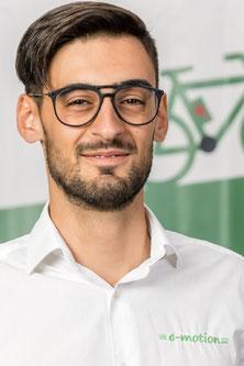 Sabatino Lasten e-Bike Berater im Lastenfahrrad-Zentrum Frankfurt