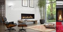 Gas-Kamin Architektur-Kamin 40x130