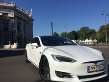 Luxury vehicle Tesla Model S
