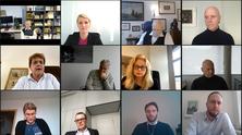 Aufnahme des digitalen Polit-Talks mit Alexander Krauß, MdB und Dr. Kirsten Kappert-Gonther, MdB