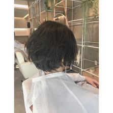 横浜・石川町、美容室Grantus,ヘアスタイル、ショート、ボブ、エフィラージュカット