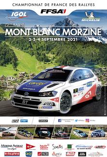 affiche rallye mont blanc 2021