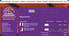 Online-Shop mit Warenkorb