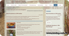 Blog mit Bastelideen der Firma moving idea