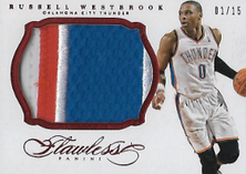 RUSSELL WESTBROOK / Jumbo Patch - No. 10  (#d 1/15)