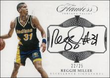REGGIE MILLER / Excellence Signatures - No. EX-REG  (#d 22/25)