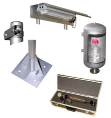 Mechatest Standpipes Stainless, Sampling Accessories