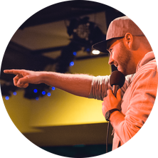 Poetry Slam Moderator; Poetry Slam Moderation; Poetry Slam Durchführung