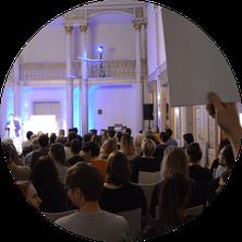 Science Slam Veranstalter; Science Slam veranstalten; Science Slam organisieren Organisation