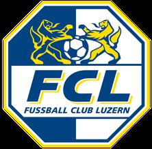 Logo FCL Fussball Club Luzern Kategoriensponsor Gersauer Silvesterlauf