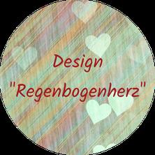 """Layout """"Regenbogenherz"""""""
