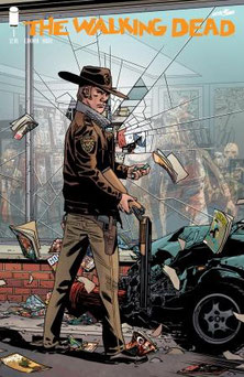 The Walking Dead #1 15th Anniversary Blind Bag covers