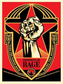 Shepard Fairey Prophets of Rage