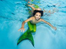 Bubble-Swim Meerjungfrauen-Events in der ganzen Schweiz