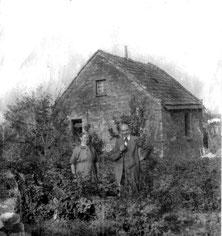 1924: Das erste Haus auf dem Jungfernkopf, erbaut von Konrad und Ernestine Gundlach