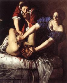 Artemisia Gentileschi, Giuditta e Oloferne