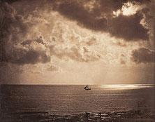 Brick au clair de lune, une marine de Gustave Le Gray, 1856-1857. Souce Google Arts & Culture