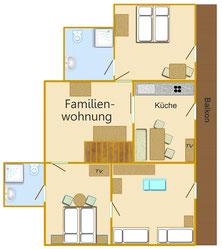 Familienwohnung