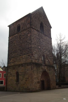 Alter Turm, Dudweiler, Alte Pfarrkirche, um 1350