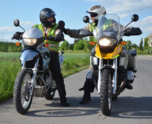 Motorradfahren lernen beim Profi