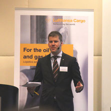 LH Cargo's Michael Kohnen advocates tapping the Nordic oil & gas market  /  source: jmd