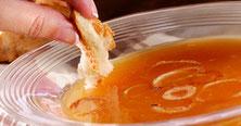 Même en été vous pouvez consommer des soupes c'est un encas parfait en fin d'après midi, surtout que vous savez certainement que boire chaud en été est excellent pour votre Santé!