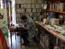 Théo Calmejane en dédicace à la Librairie le samedi 6 Mai 2017.
