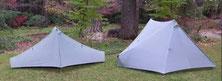 Zwei ultraleichte Zelte von Tarptent